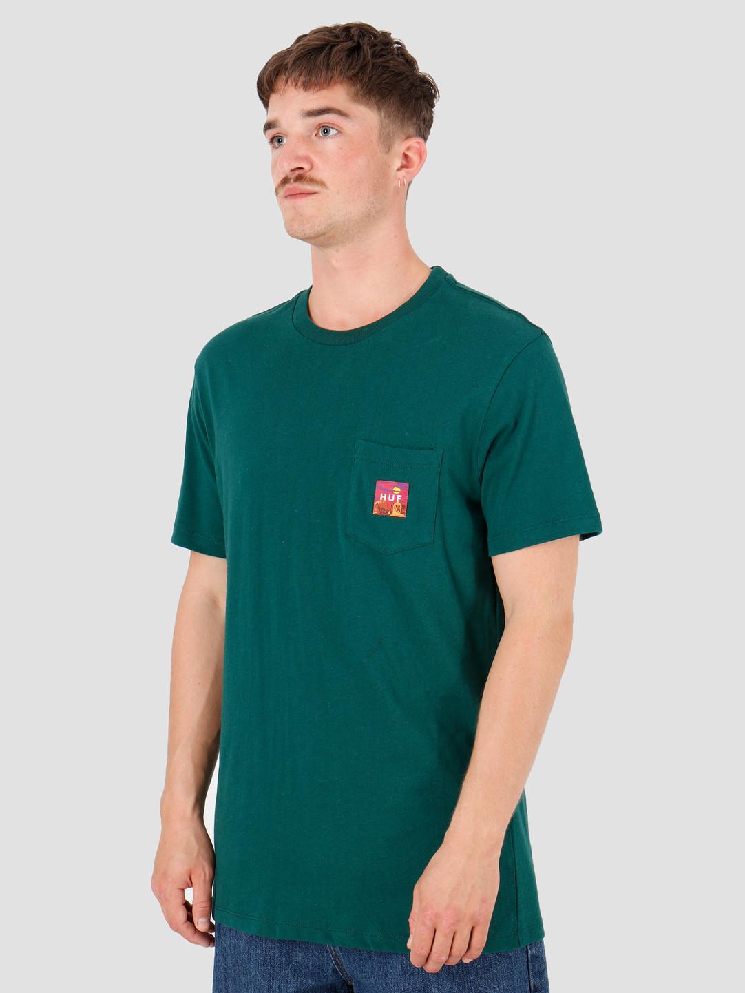 HUF HUF Sedona Pocket T-Shirt Botanical Green TS00814-BTCGN