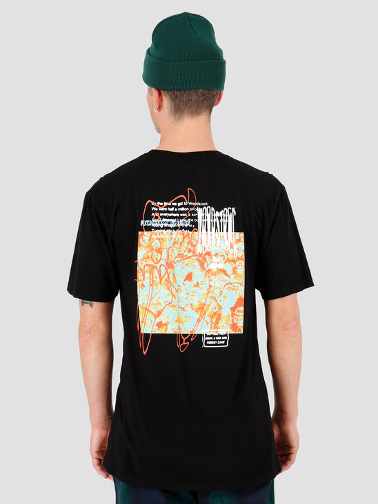HUF Woodstock Nobody Came T-Shirt Black TS00978