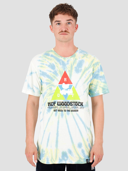 HUF Woodstock Peaking T-Shirt Blue TS00980