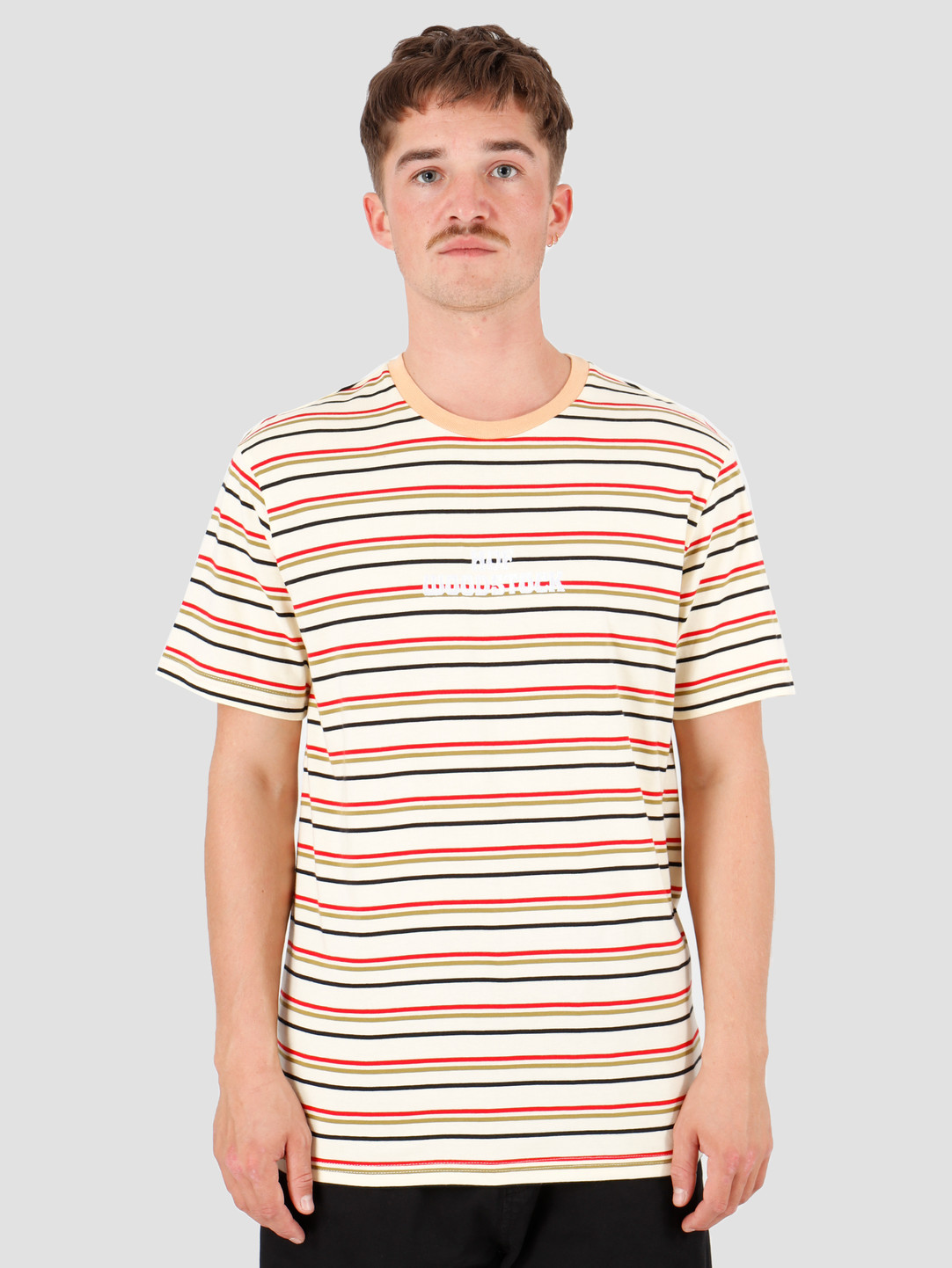 HUF HUF Woodstock Yds Knit Top Yellow KN00159