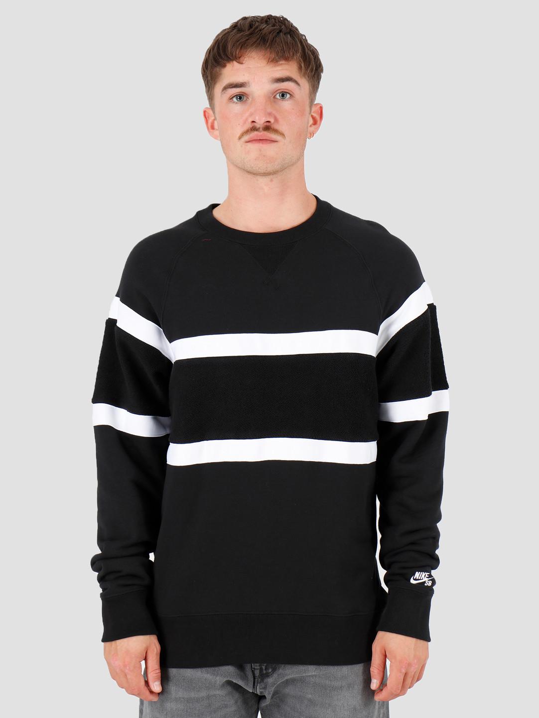 good looking detailed look buy cheap Nike SB Everett Black Black White AT3416-010