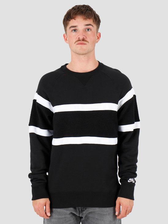 Nike SB Everett Black Black White AT3416-010