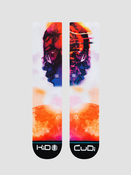 Stance Cudi Man On The Moon White M558C19CUM