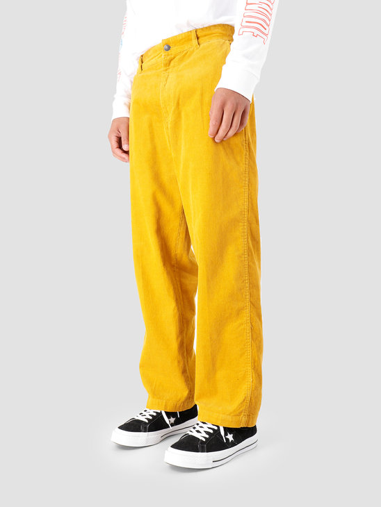 Obey Hardwork Cord Carpenter Pant Golden Palm 142020141-GPM