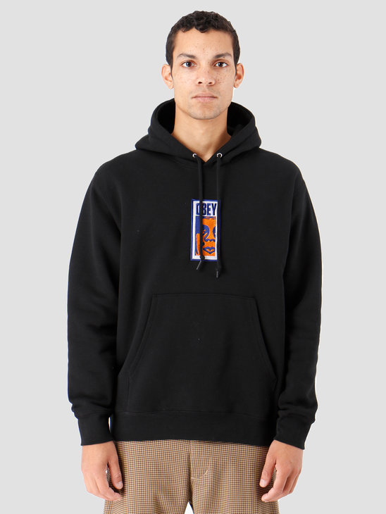 Obey Slim Icon Hood Black 112470069-BLK