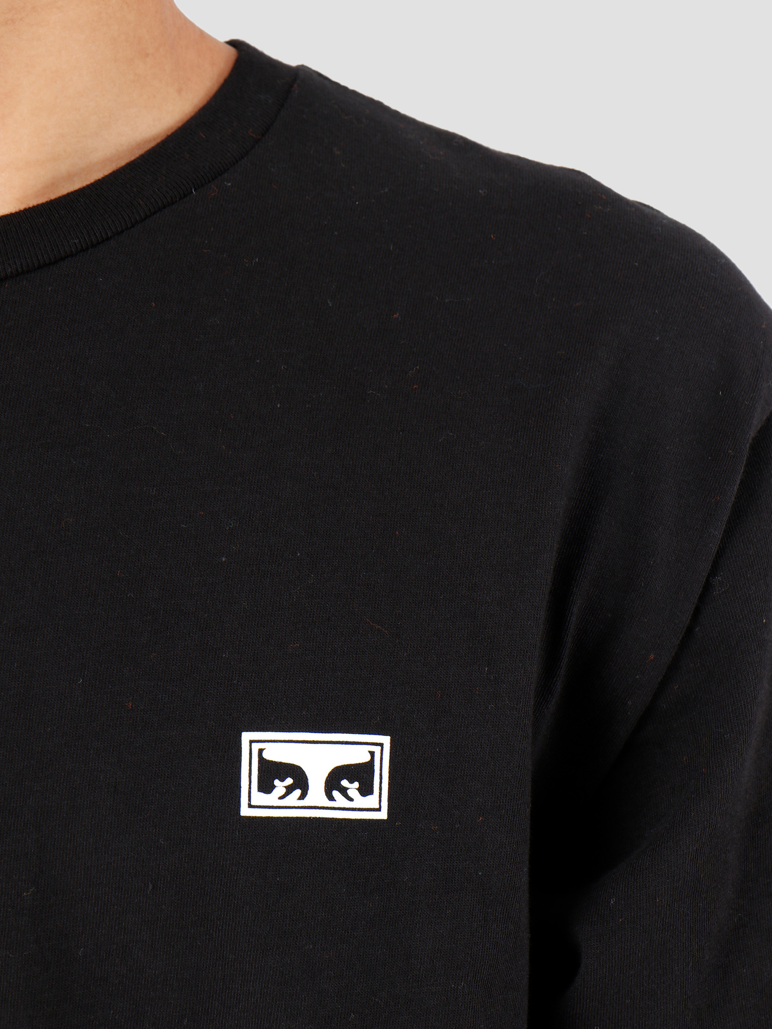 Obey Obey Intl. Chaos & Dishortsleeveent Black 163082077-BLK