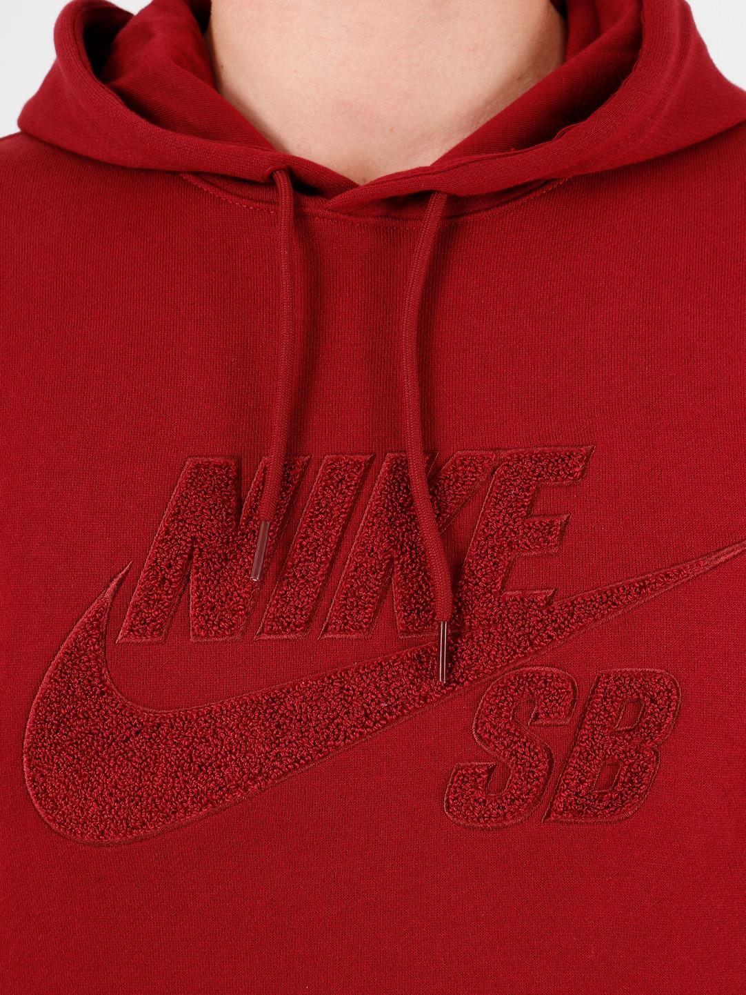 Nike Nike SB Seasonal Po Hoodie Team Red Team Red Team Red AT3414-677