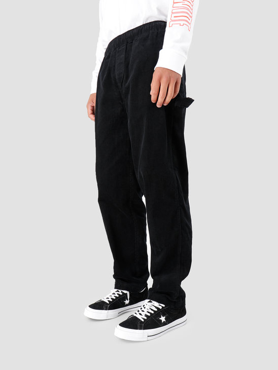 Obey Easy Cord Carpenter Pant Black 142020139-BLK