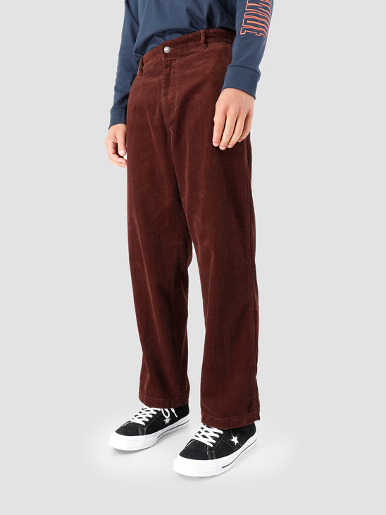 Obey Hardwork Cord Carpenter Pant Brown 142020141-BRN