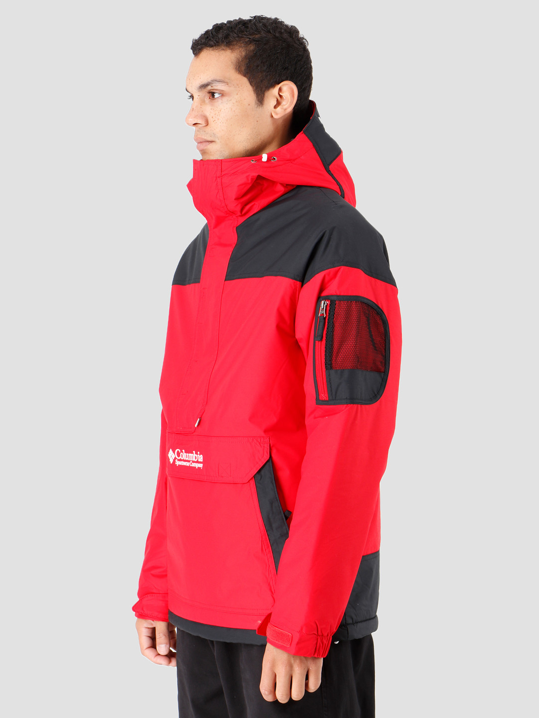 Columbia Columbia Challenger Pullover Mountain Red Black 1698431613