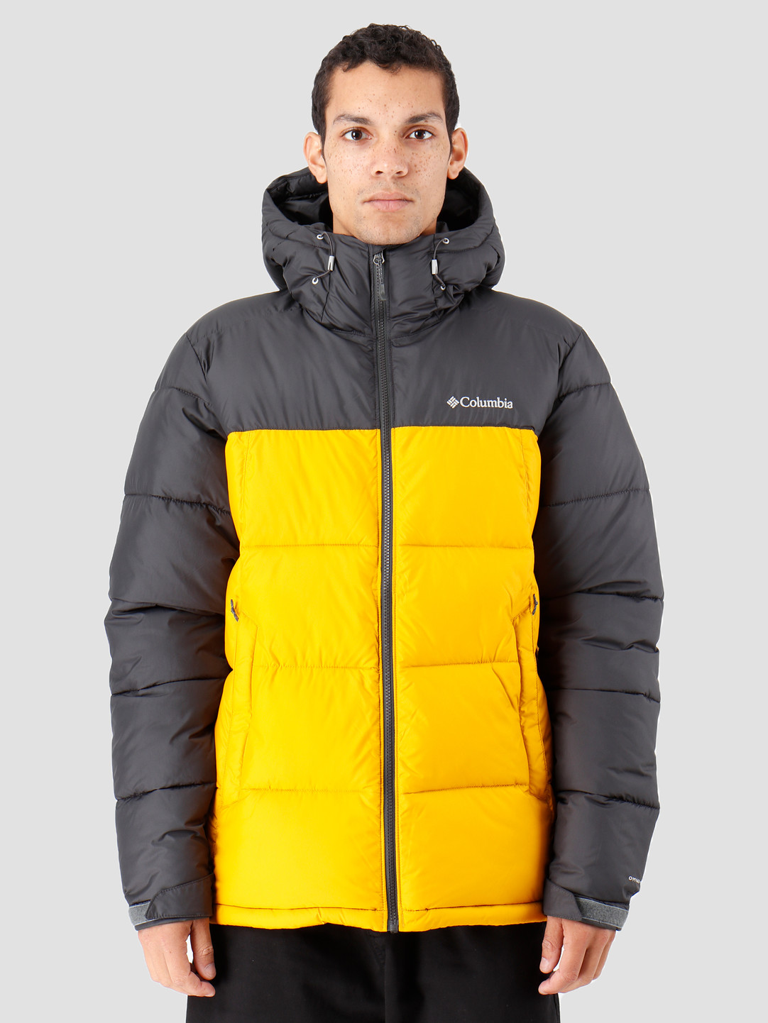 Columbia Columbia Pike Lake Hooded Jacket Golden Yellow 1738032705