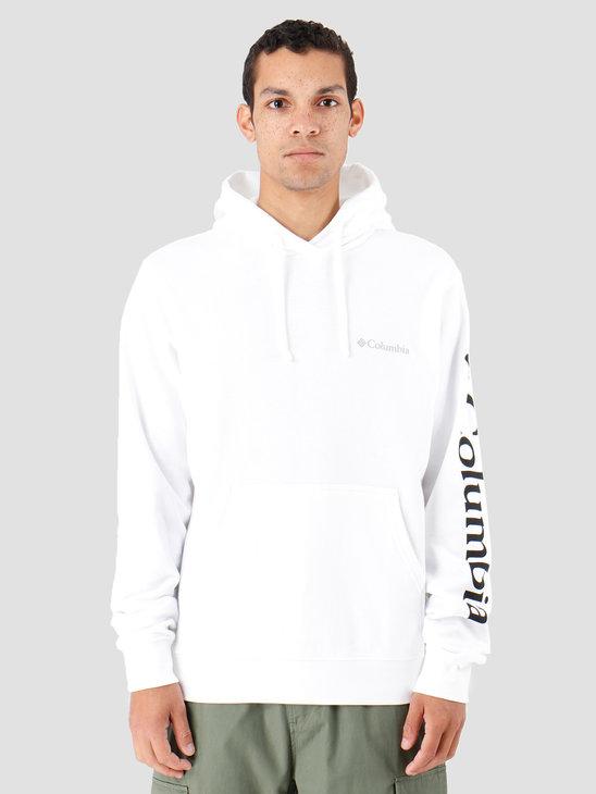 Columbia Viewmont II Sleeve Graphic Hoodie White 1821014100