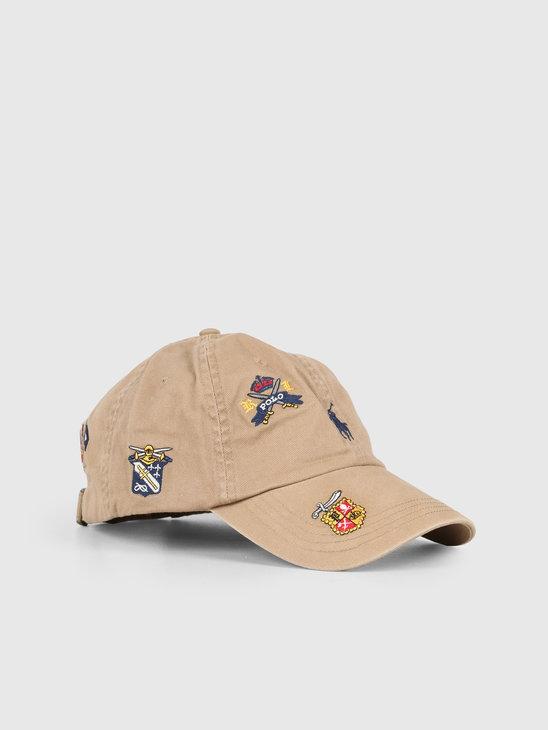 Polo Ralph Lauren Classic Sport Cap Beige Khaki 710761922001