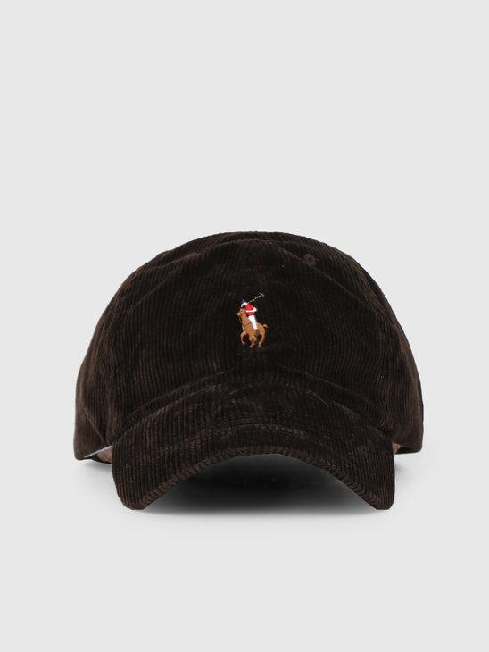Polo Ralph Lauren Classic Sport Cap Brown 710759460002