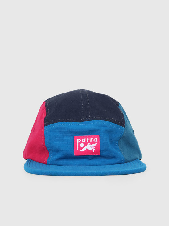 By Parra Bird Dodging Ball 5 Panel Volley Hat Multicolor 42820
