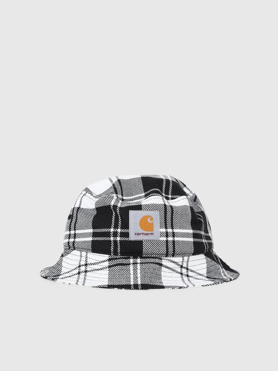 Carhartt WIP Pulford Bucket Hat Pulford Check Wax I026887