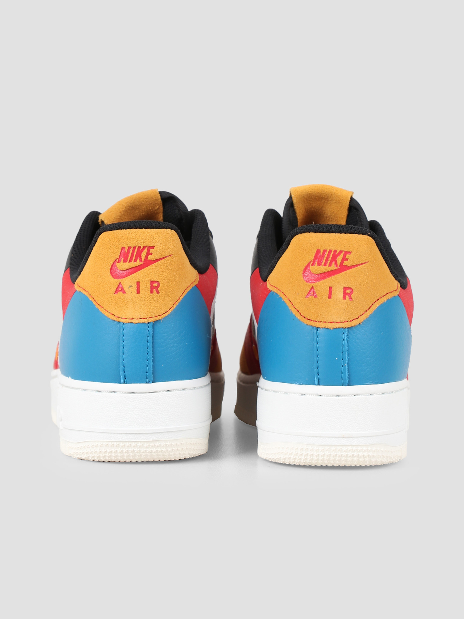 Nike Nike Air Force 1 07 Prm 1 Sail Black Imperial Blue Amber Rise CI0065-101