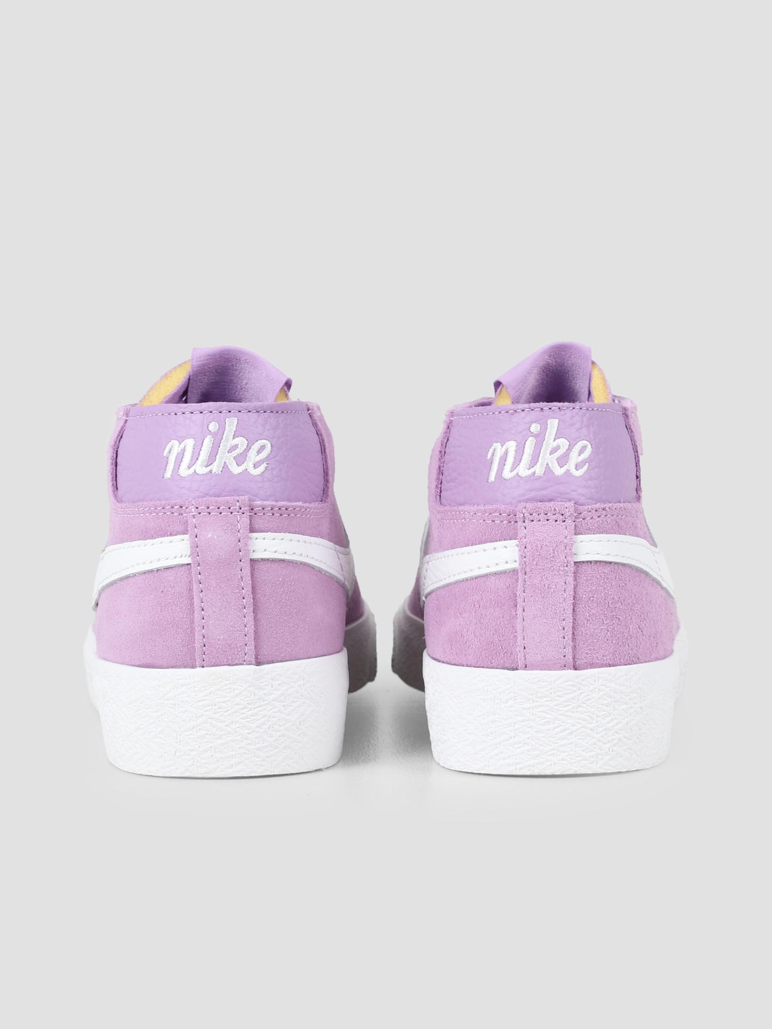 Nike Nike SB Zoom Blazer Chukka Violet Star Summit White AT9765-500
