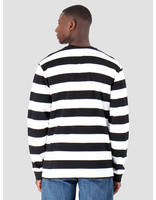 Daily Paper Daily Paper Astripe Longsleeve Black White 19E1LS01-01