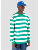 Daily Paper Daily Paper Astripe Longsleeve Jolly Green White 19E1LS01-03