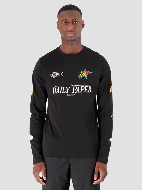 Daily Paper Geff Longsleeve Black 19F1LS09-01