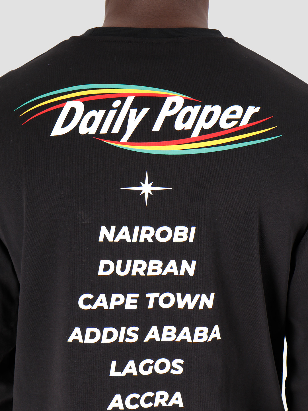 Daily Paper Daily Paper Geff Longsleeve Black 19F1LS09-01