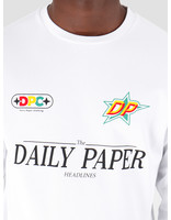 Daily Paper Daily Paper Geff Longsleeve White 19F1LS09-02