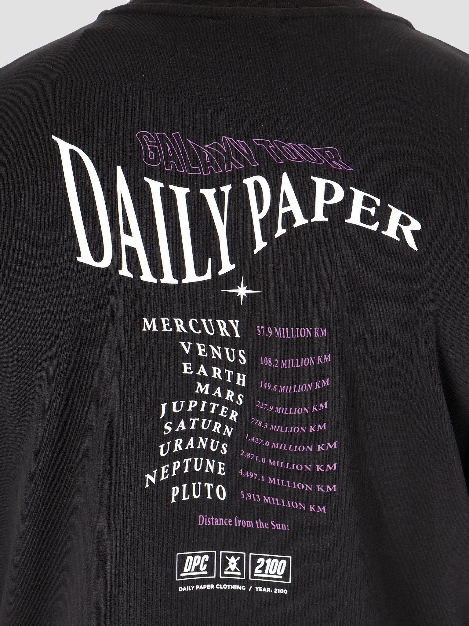 Daily Paper Daily Paper Gorbla  T-Shirt Black 19F1TS01-01