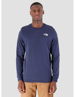 The North Face The North Face Longsleeve Simple Dome Montague Blue T93L3BJC6