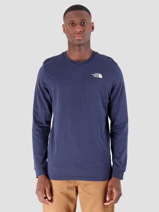 The North Face Longsleeve Simple Dome Montague Blue T93L3BJC6