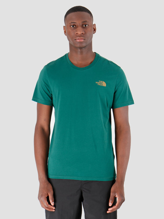 The North Face T-Shirt Simple Dome Night Green T92TX5N3P