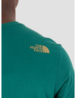 The North Face The North Face T-Shirt Simple Dome Night Green T92TX5N3P