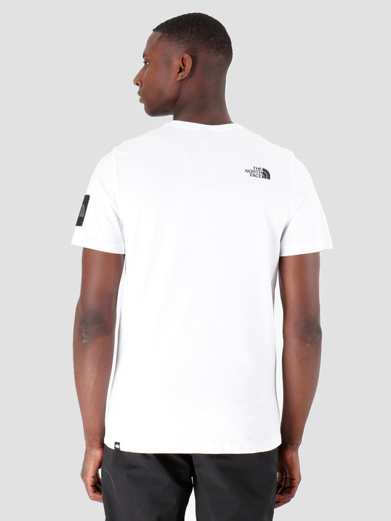 The North Face T-Shirt Fine 2 Black White Reflective T93YHCFV3