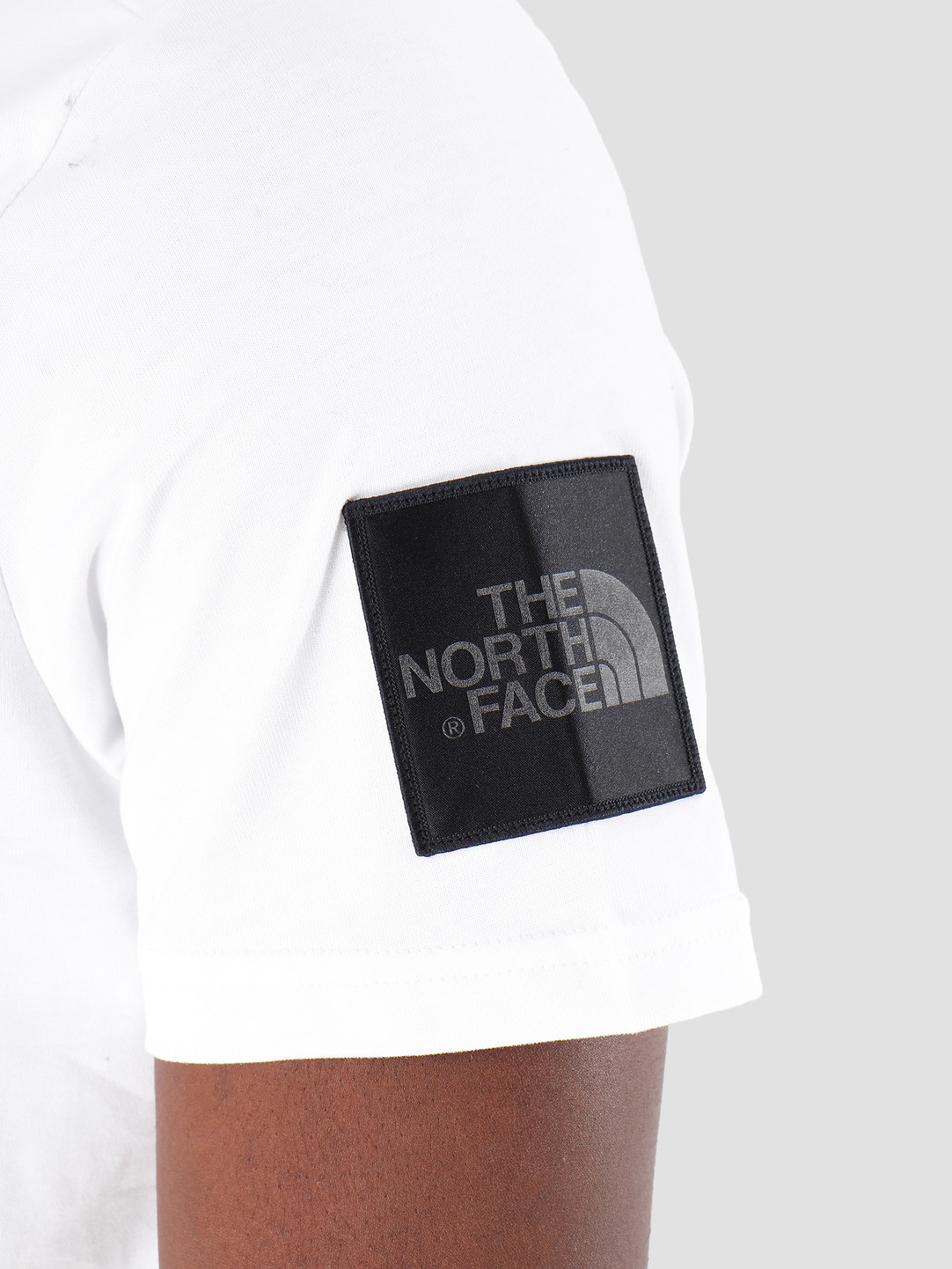 The North Face The North Face T-Shirt Fine 2 Black White Reflective T93YHCFV3