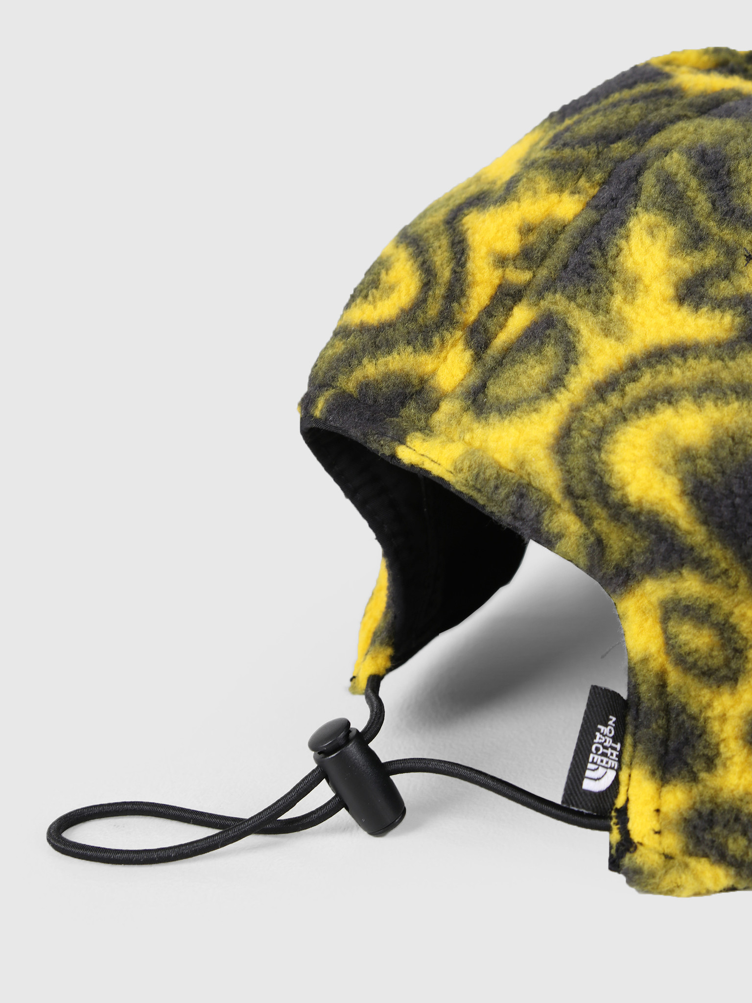 The North Face The North Face 94 Rage Reverse Fleece Cap Black Leopard Yellow T93FNVH22