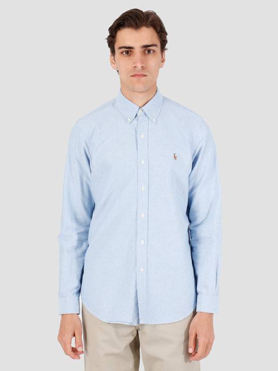 Polo Ralph Lauren Classic Fit Shirt Blue 710548535002