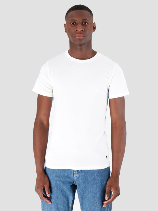 Polo Ralph Lauren Classic 2 Pack Crew Undershirt 2Pk White White 714621944002
