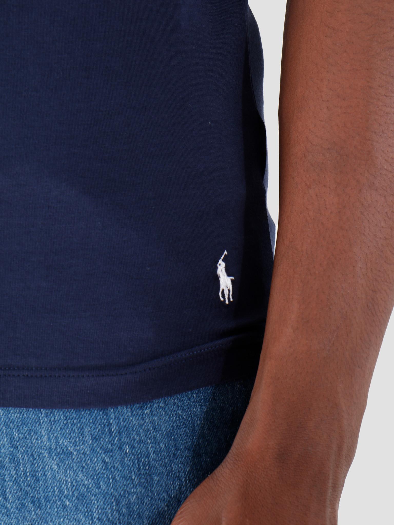 Polo Ralph Lauren Polo Ralph Lauren Classic 2 Pack Crew Undershirt 2Pk Navy Navy 714621944004