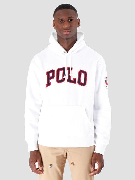 Polo Ralph Lauren Vintage Polar Fleece Longsleeve White 710696327002