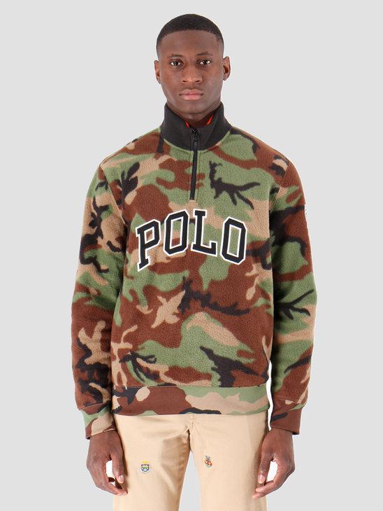 Polo Ralph Lauren Polar Fleece Longsleeve Green 710719882006