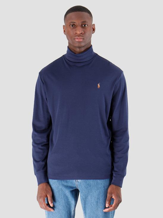 Polo Ralph Lauren Lsturtlem1 Long Sleeve Knit French Navy 710760126003