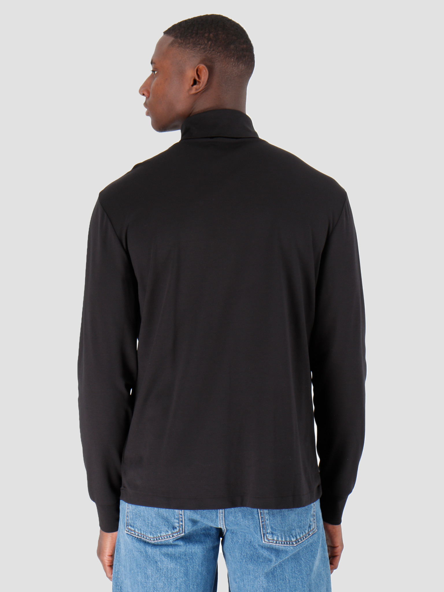 Polo Ralph Lauren Polo Ralph Lauren Lsturtlem1 Long Sleeve Knit Polo Black 710760126001