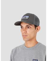 Patagonia Patagonia P-6 Logo Trucker Hat Forge Grey 38017