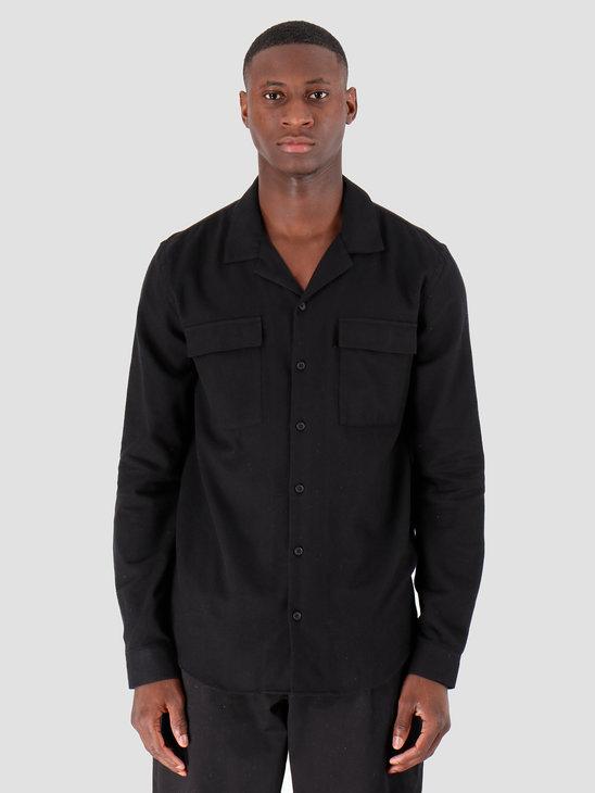 Libertine Libertine Cave Pocket Dress Shirt Black 1739