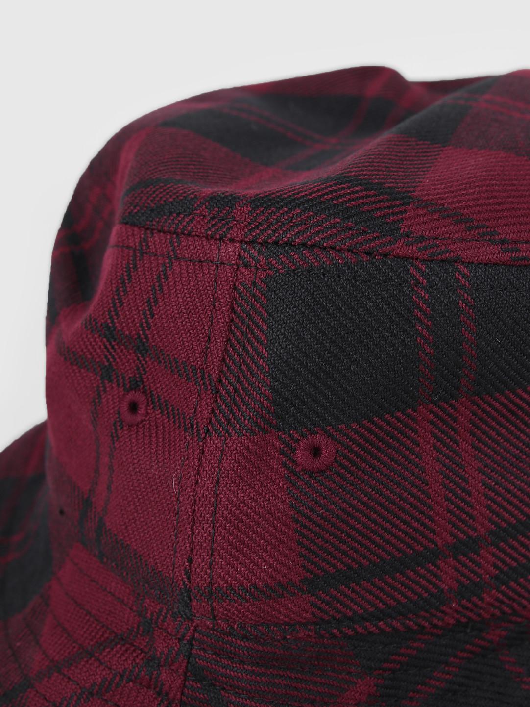 Carhartt WIP Carhartt WIP Pulford Bucket Hat Pulford Check Merlot I026887