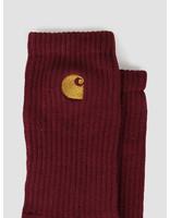 Carhartt WIP Carhartt WIP Chase Socks Merlot Gold I026527