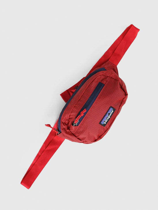 Patagonia Ultralight Black Hole Mini Hip Pack Rincon Red 49447