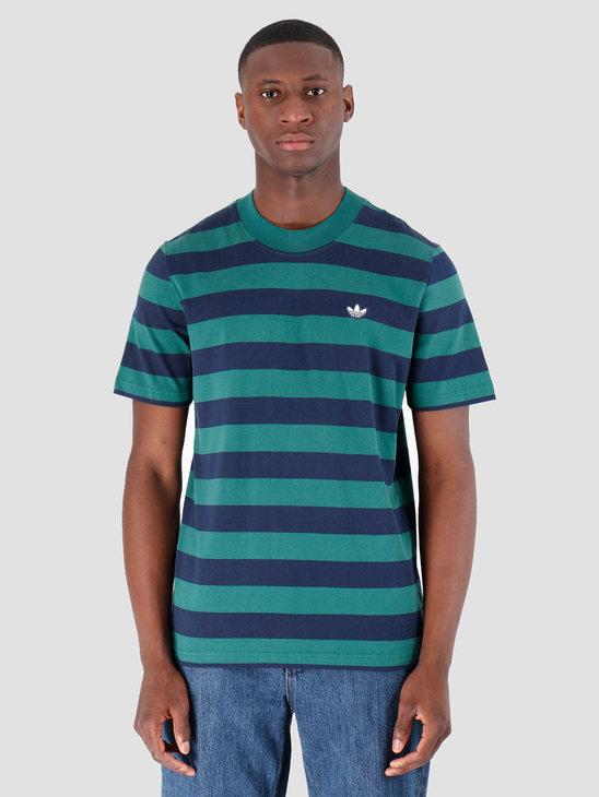 adidas Stripe T-Shirt Nindig Cgreen EC9305