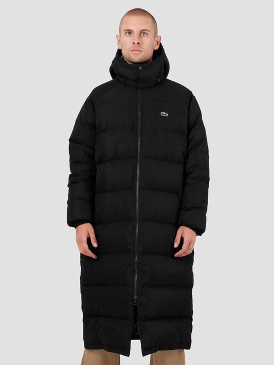 Lacoste 1HB1 Jacket Black Black-White BH8008-93