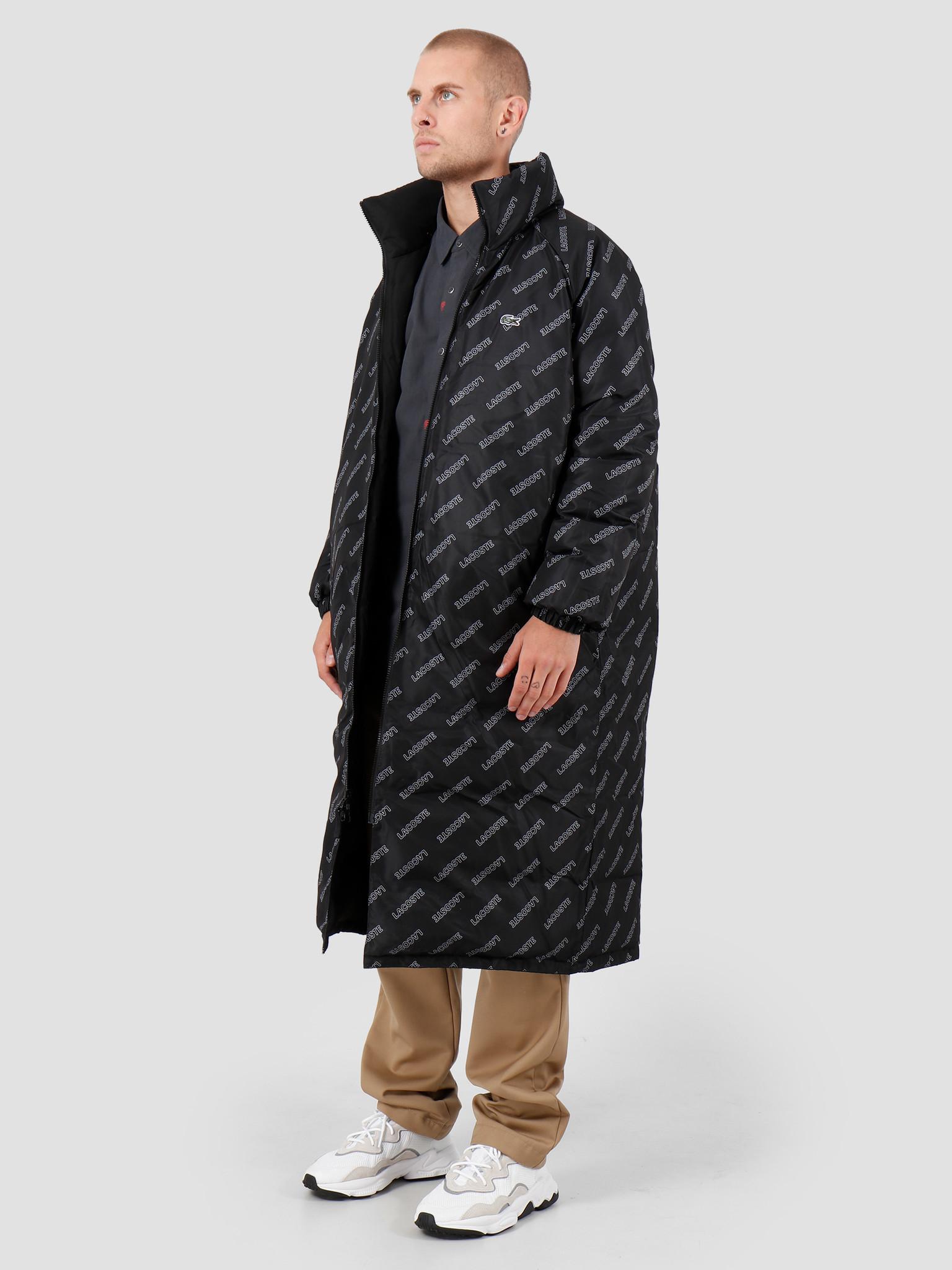 Lacoste Lacoste 1HB1 Jacket Black Black-White BH8008-93